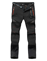 cheap -women's outdoor mountain waterproof windproof fleece ski snow pants hiking trousers(black,s)
