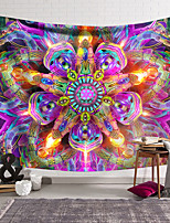 cheap -Wall Tapestry Art Decor Blanket Curtain Hanging Home Bedroom Living Room Decoration Polyester Hippie Mandala Psychedelic Abstract