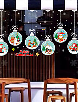cheap -Halloween Decorations  Holiday Wall Stickers Plane Wall Stickers Holiday Wall Stickers Decorative Wall Stickers PVC Home Decoration Wall Decal Wall Decoration 1pc