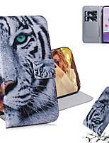 cheap -Case For LG LG V50 ThinQ / LG Stylo 5 / LG G8 ThinQ Shockproof Full Body Cases Animal PU Leather / TPU