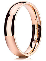 cheap -4mm women womens rose gold pinky polished titanium engagement promise qualo pinky eternity wedding ring set jewelry for women size 11