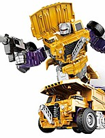 cheap -transforming robot car model toys for children, creative combination engineering vehicle