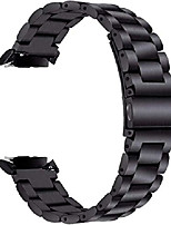 cheap -gear s2 bands solid stainless steel metal replacement band with adapters for samsung gear s2 smart watch (metal black)