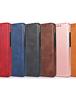 cheap -Case For Samsung Galaxy S20 Plus / S20 Ultra / S20 Shockproof Full Body Cases Solid Colored PU Leather / TPU
