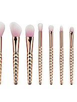 cheap -makeup brush set, professional colorful honeycomb premium cosmetic powder rose gold angled eyeshadow brushes, 8pcs