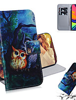 cheap -Case For Samsung Galaxy Galaxy Note 20 Ultra / Galaxy A51 / Galaxy S10 Lite Shockproof Full Body Cases Animal PU Leather / TPU