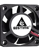 cheap -Gdstime-2 Pcs Cooling Fan For Pc And Computer 2-Pin Ball Bearing 24v 12v 5v 40mm x 40mm x 10mm 4010