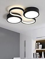 cheap -50/60 cm LED Ceiling Light Modern Black White Includes Dimmable Version Geometric Shapes Flush Mount Lights Metal Painted Finishes 110-120V 220-240V