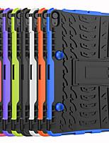cheap -Case For Apple iPad Air 4 (2020) 10.9'' / iPad mini 1/2/3  7.9'' / iPad mini 4 7.9'' Shockproof Full Body Cases Solid Colored TPU / PC