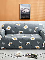 cheap -Daisy Print 1-Piece Sofa Cover Couch Cover Furniture Protector Soft Stretch Slipcover Spandex Jacquard Fabric Super Fit for 1~4 Cushion Couch and L Shape Sofa,Easy to Install(1 Free Cushion Cover)
