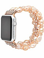 cheap -women pearl bracelet crystal fashion band straps for apple iwatch series 5 4 3 2 1, 38-44mm