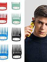 cheap -Men's Professional High-power Electric Clipper Limit Comb Color 8-Piece Set Limit Comb With Iron Ruler