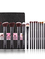 cheap -18pcs Essential Makeup Brush Tools Soft Synthetic Fiber Cosmetic Sets Blending Lip Contour Brushes For Make Up