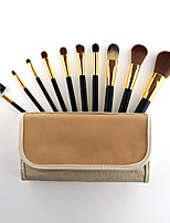 cheap -New Product Portable Pony Hair 10 Makeup Brush Set Beauty Tools Spot Wholesale