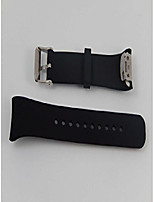 cheap -silicone replacement bracelet black for smartwatch fitnesstracker samsung gear fit 2 sm-r360