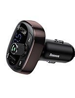 cheap -BASEUS Bluetooth 4.2 FM Transmitter Car MP3 FM Modulator Car