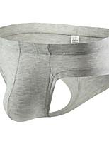 cheap -Men's 1 Piece Basic G-string Underwear - Asian Size Low Waist Light Blue White Black M L XL