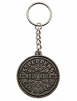 cheap -sgt pepper keyring (one size) (silver)