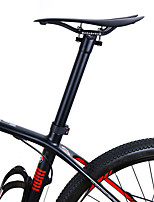 cheap -Bike Seatpost 31.6/30.8/27.2 mm 31.6/30.8/27.2 mm 355/445 mm Road Bike Mountain Bike MTB Fixed Gear Bike Cycling Matte Black Fiber Carbon / Ergonomic