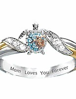 cheap -turtle statement ring mom loves you forever cute animal turtle ring health and longevity sea turtle rings for mother daughter