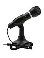 cheap -3.5mm Condenser Microphone Home Stereo Microphone Desktop Support for PC YouTube Video Skype Chat Games Podcast Recording