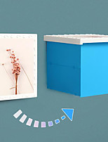 cheap -Bathroom Folding Storage Box Waterproof Storage Cabinet Wall-Mounted Storage Cabinet Toilet Free Punch Storage Box Rack