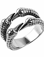 cheap -biker ring, punk dragon claw rings, stainless steel, casting black, size 8-12 for women men unisex