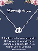 cheap -tiny initial necklace stainless steel letter a necklace dainty personalized name necklaces birthday gift for bridsmaids women girls