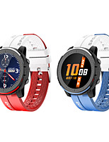 cheap -696 LV69 Unisex Smartwatch Smart Wristbands Bluetooth Heart Rate Monitor Blood Pressure Measurement Sports Hands-Free Calls Camera Control Activity Tracker Sleep Tracker Sedentary Reminder Community