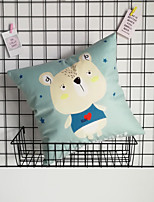 cheap -Short Plush Blue Series Cartoons Printing Simple Modern Style Pillow Case Cover Living Room Bedroom Sofa Cushion Cover