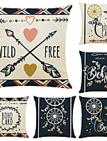 cheap -Cushion Cover 6PCS Short Plush Soft Decorative Square Throw Pillow Cover Cushion Case Pillowcase for Sofa Bedroom 45 x 45 cm (18 x 18 Inch) Superior Quality Machine Washable