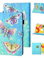 cheap -Case For Apple iPad mini 1/2/3  7.9'' / iPad mini 4 7.9'' / iPad mini 5 7.9'' Shockproof Full Body Cases Butterfly / Cartoon PU Leather / TPU