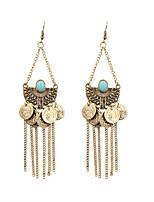cheap -Women's Girls' Drop Earrings Dangle Earrings Pear Cut Fashion Birthday Teardrop Fashion Vintage Gypsy Sweet Boho Earrings Jewelry Bronze For Street Gift Date Vacation Festival 1 Pair