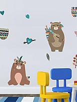 cheap -Wall Stickers Plane Wall Stickers / Holiday Wall Stickers Decorative Wall Stickers, PVC Home Decoration Wall Decal Wall Decoration 1pc