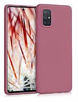 cheap -case compatible with samsung galaxy a71 - mobile phone cover - mobile phone case in deep rusty rose