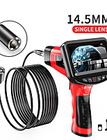cheap -14.5 mm high definition camera with 4.3 inch screen auto repair auto repair engine industrial piping autofocus sewer electronic air conditioning 5m hard wire with 32G TF card