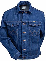 cheap -western unlined denim jacket 74145pw