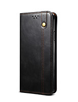 cheap -Case For Samsung Galaxy Galaxy A11 / Galaxy M11 / Galaxy M31s Card Holder / Shockproof / Magnetic Full Body Cases Solid Colored TPU