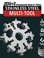cheap -20-in-1 Snowflake Multi Tool, Stainless Steel Snowflake Bottle Opener/Flat Phillips Screwdriver Kit/Wrench, Durable and Portable to Take, Great Christmas gift(Standard, Stainless Steel)