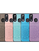 cheap -Case For Samsung Galaxy S20 Plus / S20 Ultra / S20 Shockproof Back Cover Solid Colored / Flower PU Leather