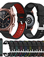 cheap -Watch Band for Samsung Galaxy Watch 3 41mm Samsung Galaxy Sport Band Silicone Wrist Strap