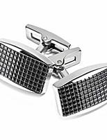 cheap -cufflinks for men cuff links gift for dad mens cufflinks set blanks classy silver gun black plating