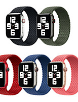 cheap -Watch Band for Apple Watch Series 6 / SE / 5/4 40mm / Apple Watch Series 3/2/1 38mm Apple Sport Band Fabric / Nylon Wrist Strap