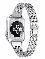 cheap -watch series3 band 38m, luxury rhinestone diamond stainless steel bling bands compatible apple iwatch series 5/4/3/2/1 38mm 40mm, jewelry dressy watch strap bracelet metal wristband for women,silver