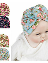 cheap -1pcs Toddler / Infant Girls' Basic Rose Jacquard Print Spandex / Cotton Hair Accessories Blue / Blushing Pink / Navy Blue One-Size