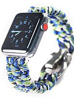 cheap -Watch Band for Apple Watch Series 6 / SE / 5/4 44mm / Apple Watch Series 6 / SE / 5/4 40mm / Apple Watch Series 3/2/1 38mm Apple Sport Band Nylon Wrist Strap