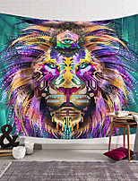 cheap -Wall Tapestry Art Decor Blanket Curtain Hanging Home Bedroom Living Room Decoration Polyester Lion Head