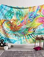 cheap -Wall Tapestry Art Decor Blanket Curtain Hanging Home Bedroom Living Room Decoration Polyester Hippie Abstract Pattern Psychedelic Abstract