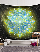 cheap -Mandala Bohemian Wall Tapestry Art Decor Blanket Curtain Hanging Home Bedroom Living Room Decoration Polyester Psychedelic Floral Flower Lotus