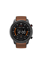 cheap -Amazfit Gtr 47 Sports Watch With Silicone And Leather Strap Water Resistant Up To 5atm With Gps Music And 24 Days Of Battery